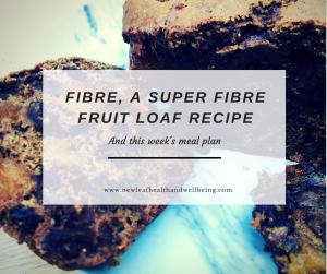 fibre and fruit loaf recipe