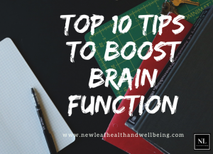 tips to boost brain function