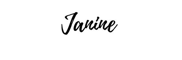 janine's signature