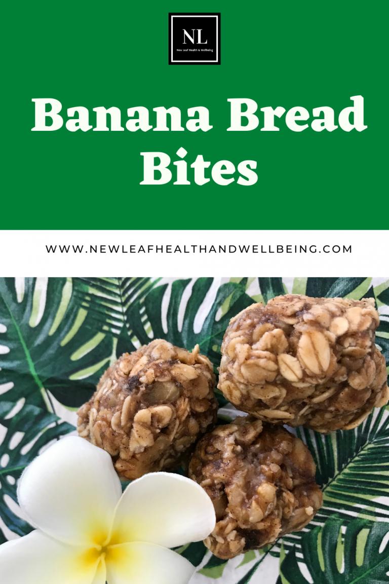 banana bread bites
